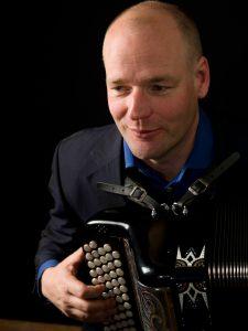 Bandoneonist accordeonist Gert Wantenaar