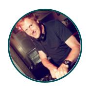 DJ martein nieuwjaarsborrel