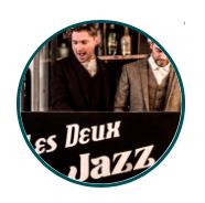 Les Deux Jazz - nieuwjaarsborrel optreden